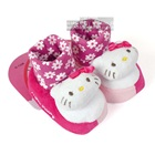 รองเท้าเด็ก-Hello-Kitty-สีชมพู-(4-คู่/แพ็ค)