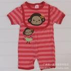 บอดี้สูทลิงเต้นระบำ-สีชมพู-(5-size/pack)