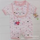 บอดี้สูทกระต่าย-Love-Love-สีขาว-(5-size/pack)