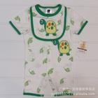 บอดี้สูทเต่าน้อยน่ารัก-สีขาวเขียว-(5-size/pack)