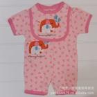บอดี้สูท-Love-Love-ช้างน้อยสีชมพู-(5-size/pack)