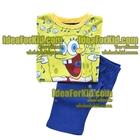 เสื้อและกางเกง-SpongeBob-สีเหลือง---(3size/pack)