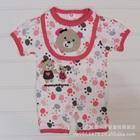 บอดี้สูท-Lovely-Bear-สีขาวชมพู-(5-size/pack)