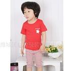 ชุดเสื้อกางเกง-The-Star-สีแดง--(5-size/pack)