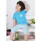 ชุดเสื้อกางเกง-The-Star-สีฟ้า--(5-size/pack)