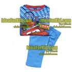 เสื้อและกางเกง-Blue-Cars-(4size/pack)
