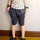 กางเกงขาสามส่วน-สีเทา-(5-ตัว/pack)