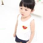 เสื้อกล้าม-Superman-สีขาว-(5ตัว/pack)