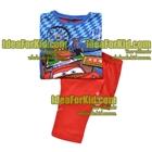 เสื้อและกางเกง-Red-Cars-(4size/pack)