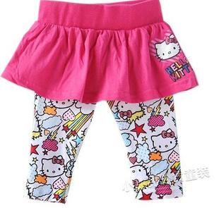 กางเกงกระโปรงแมวเหมียวคิตตี้-(6-ตัว/pack)