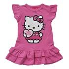 เดรสแขนสั้น-Hello-Kitty-สีชมพูอ่อน-(4-ตัว/pack)