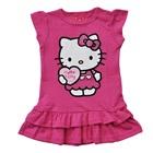 เดรสแขนสั้น-Hello-Kitty-สีชมพูกุหลาบ-(4-ตัว/pack)