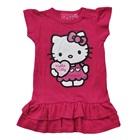 เดรสแขนสั้น-Hello-Kitty-สีชมพูเข้ม-(4-ตัว/pack)