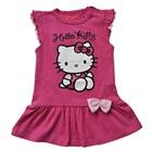 เดรสแขนสั้นโบว์เล็ก-Hello-Kitty-สีชมพู(4-ตัว/pack)