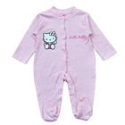 บอดี้สูท-Hello-Kitty-สีชมพูอ่อน-(4-size/pack)