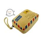 กระเป๋าพัสดุไปรษณีย์-สีน้ำตาล-(5-ใบ/pack)