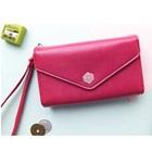 กระเป๋าแฟชั่นสำหรับใส่ไอโฟน-สีบานเย็น-(5-ใบ/pack)