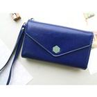 กระเป๋าแฟชั่นสำหรับใส่ไอโฟน-สีน้ำเงิน-(5-ใบ/pack)