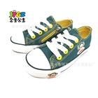 รองเท้าผ้าใบลิงยิ้มแย้ม-สีเขียว-(8-คู่/แพ็ค)