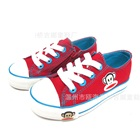 รองเท้าผ้าใบลิงยิ้มแย้ม-สีแดง-(8-คู่/แพ็ค)