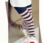 กางเกงเลกกิ้งลายขวาง-สีชมพู-(5-ตัว-/pack)