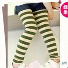 กางเกงเลกกิ้งลายขวาง-สีเขียว-(5-ตัว-/pack)