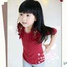 เสื้อแขนยาว-Western-style-สีแดง-(5size/pack)