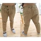กางเกงขายาว-สีน้ำตาล-(4-ตัว/pack)