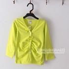 เสื้อคาร์ดิแกนแขนยาว-สีเขียวอ่อน--(5-ตัว/pack)