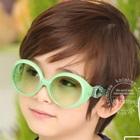 แว่นตาเด็กแฟชั่น-สีเขียว-(10-คู่/แพ็ค)
