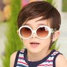 แว่นตาเด็กแฟชั่น-สีขาว-(10-คู่/แพ็ค)