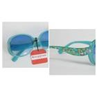 แว่นตากันแดดลายดอกไม้-สีฟ้า-(10-คู่/แพ็ค)