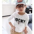 เสื้อแขนยาวเด็ก-Rocky-สีขาว-(5size/pack)