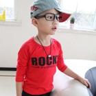 เสื้อแขนยาวเด็ก-Rocky-สีแดง-(5size/pack)