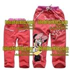 กางเกง-Minnie-Mouse-สีชมพู-(2size/pack)
