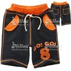 กางเกงขาสามส่วน-No-8-สีดำส้ม-(5size/pack)