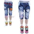 กางเกงยีนส์ขาสามส่วน-Superman-(6size/pack)