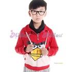 เสื้อแจ็กเก็ตแขนยาว-Angry-Bird-สีแดง-(6size/pack)