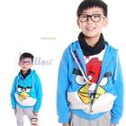 เสื้อแจ็กเก็ตแขนยาว-Angry-Bird-สีฟ้า-(6size/pack)