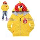 เสื้อแจ็กเก็ต-Angry-Bird-สีเหลือง-(6size/pack)