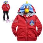 เสื้อแจ็กเก็ต-Angry-Bird-สีแดง-(6size/pack)