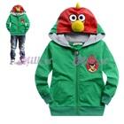 เสื้อแจ็กเก็ต-Angry-Bird-สีเขียว-(6size/pack)