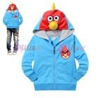เสื้อแจ็กเก็ต-Angry-Bird-สีฟ้า-(6size/pack)