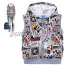 เสื้อแจ็กเก็ตแขนกุด-Mickey-Mouse-สีเทา(6size/pack)