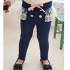 กางเกงขายาวระบาย-สีน้ำเงิน-(5-ตัว/pack)
