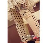 กางเกงเลกกิ้งแมวเหมียว-สีชมพู-(5-ตัว-/pack)
