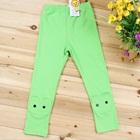 กางเกงเลกกิ้งกระต่ายน้อย-สีเขียว-(5-ตัว-/pack)