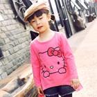 เสื้อแขนยาว-Hello-Kitty-สีชมพู-(5-ตัว/pack)