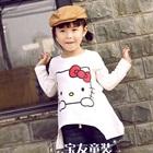 เสื้อแขนยาว-Hello-Kitty-สีขาว-(5-ตัว/pack)
