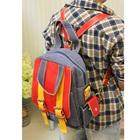 กระเป๋าแฟชั่นยีนส์สะพายข้าง-สีส้ม-(5-ใบ/pack)